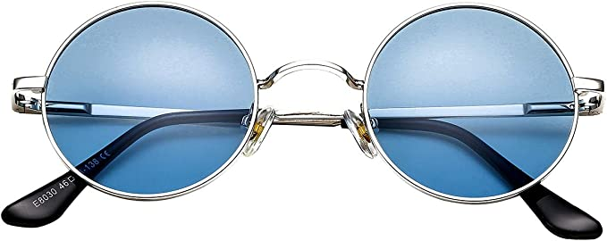 1960s Sunglasses   70s Sunglasses, 70s Glasses John Lennon Glasses Retro Round Polarized Sunglasses Hippie Style Small Circle Sun Glasses  AT vintagedancer.com