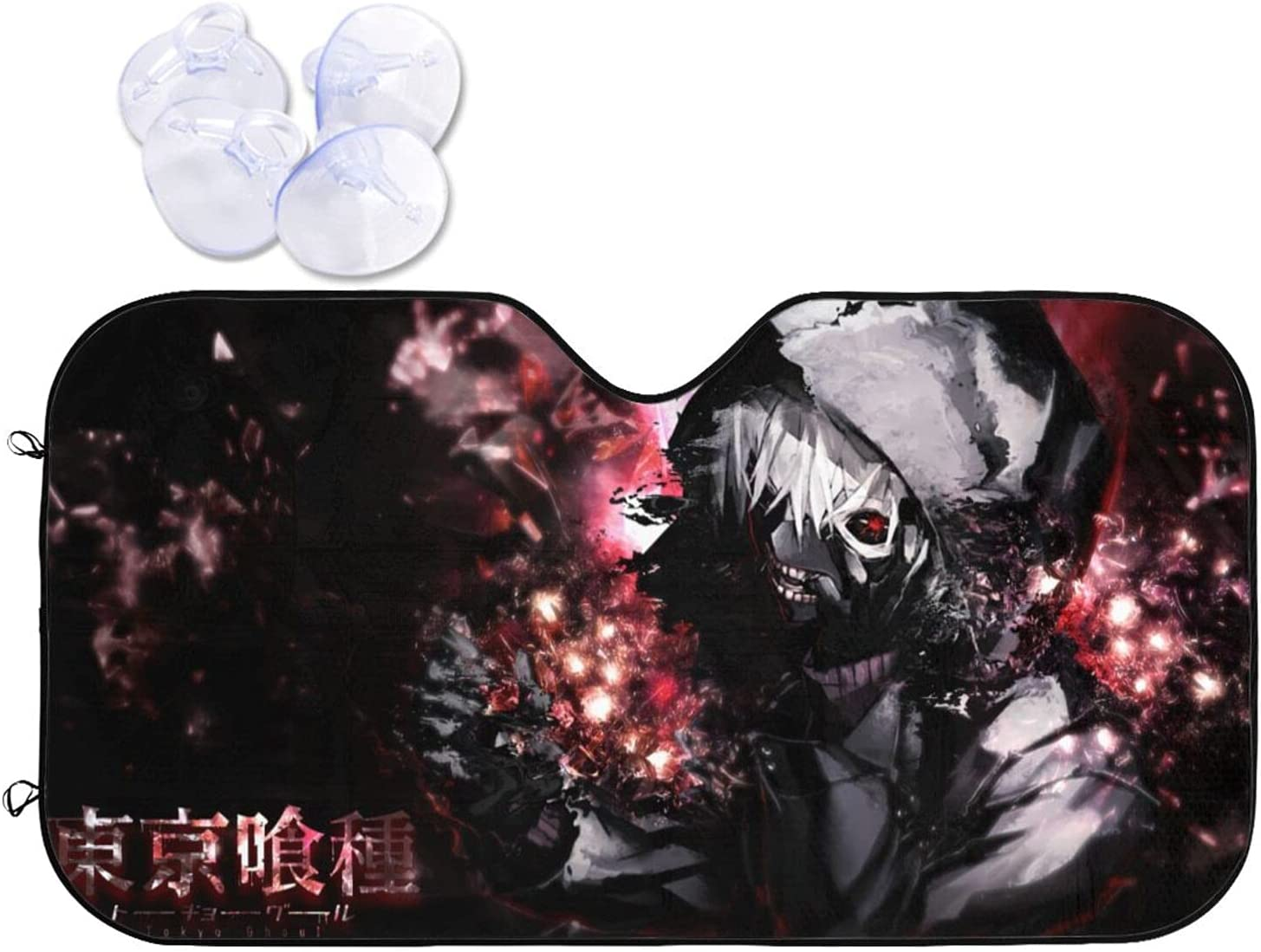 Tokyo Ghoul Soldering Car Sunshade Heat Prevention Sun Free Shipping New Viso and Windshield