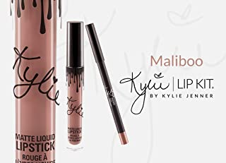 Kylie Cosmetics Lip Kit Maliboo Liquid Lipstick and Liner