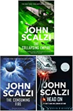 John Scalzi Collection 3 Books Set (The Collapsing Empire, The Consuming Fire, Head On)