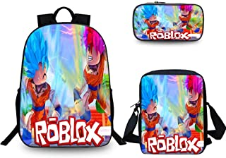 Mochila Para Niños Dibujos Animados Juego Impreso Anime 15.6 Pulgadas Bolsa De Computadora, Mochila +