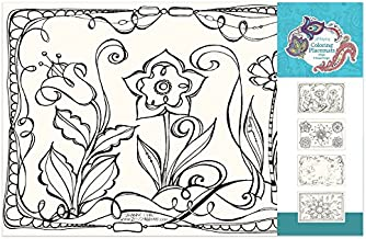 Wellspring 6202 Beautiful Coloring Placemats