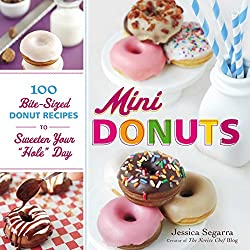 Image: Mini Donuts: 100 Bite-Sized Donut Recipes to Sweeten Your 'Hole' Day | Kindle Edition | by Jessica Segarra (Author). Publisher: Adams Media (October 18, 2012)