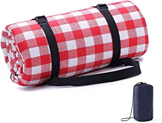 AMERTEER Picnic Blanket, Foldable Outdoor Sleeping Mat Large Size Waterproof and Sandproof Picnic Mat Beach Mat for Campin...