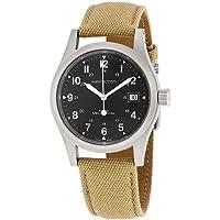 Hamilton Khaki Field Hand Wind Black Dial Men's Watch