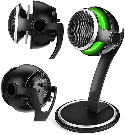 TBTUA Microfono, Gaming USB Desk Microfono per Computer - Compatibile con PC, Laptop, PS4 - Microfono Desktop Professionale con Supporto - Registrazione, Streaming, Youtube, Podcast Mics - Trova i prezzi più bassi