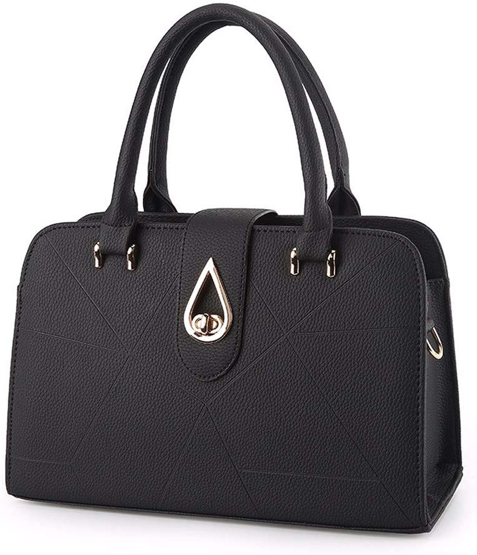 Qiruian Damen Handtaschen Crossbody Schultertaschen Einfache Umhängetasche PU Leder Tote Tasche Messenger B07Q8JW5H1  Attraktiv und langlebig