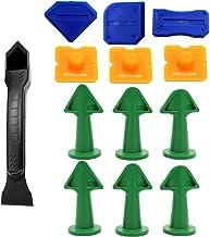Sealant Tool Kit,13PCS kit,Siliconen Tool Kit met Caulk Remover/Sealant Afwerking Tool, Caulk Nozzle en Caulk Caps Mastiek...