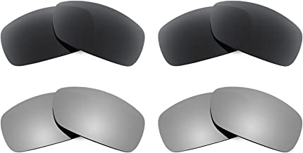 Revant Replacement Lenses for Ray Ban RB4057 4 Pair Combo Pack K021