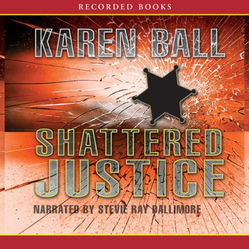 Shattered Justice audiobook cover art