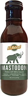 KC Natural - Mastodon Paleo AIP BBQ Sauce 14oz (1 Pack)