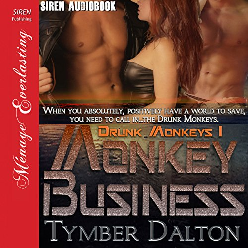 Monkey Business audiobook cover art
