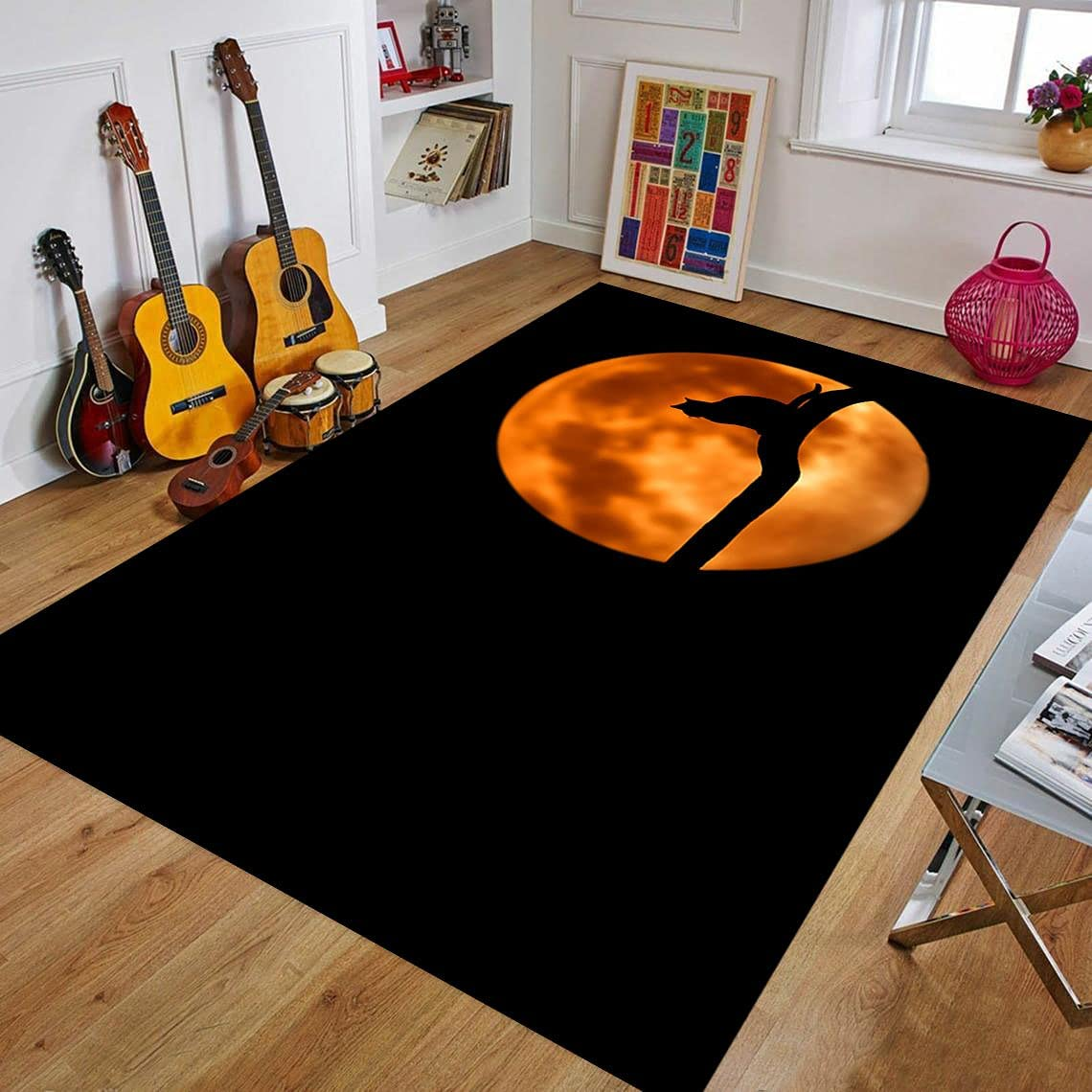 Space Bargain Rug for Living Area New Free Shipping Popular Room Kids