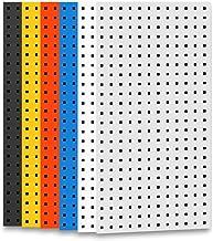 WH-IOE Panel para Herramientas de Metal Paneles Cuadrados Tablero Agujero de Almacenamiento versátil Pared El Espacio de A...