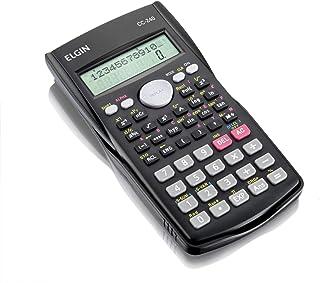 Calculadora Científica 240 Funções, Elgin 42CC24000000, Preta