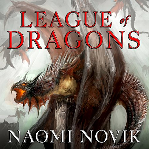 League of Dragons audiobook cover art