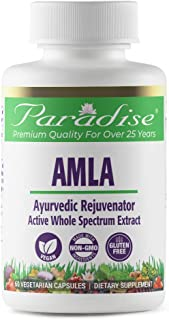 Paradise Organic Amla Extract - 100% Naturally Extracted - The Way Nature Intended - Traditional Ayurvedic Ingredient - Pr...