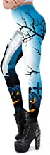 Meеt U Halloween Women Leggings 3D Design Yoga Pants Workout Capris