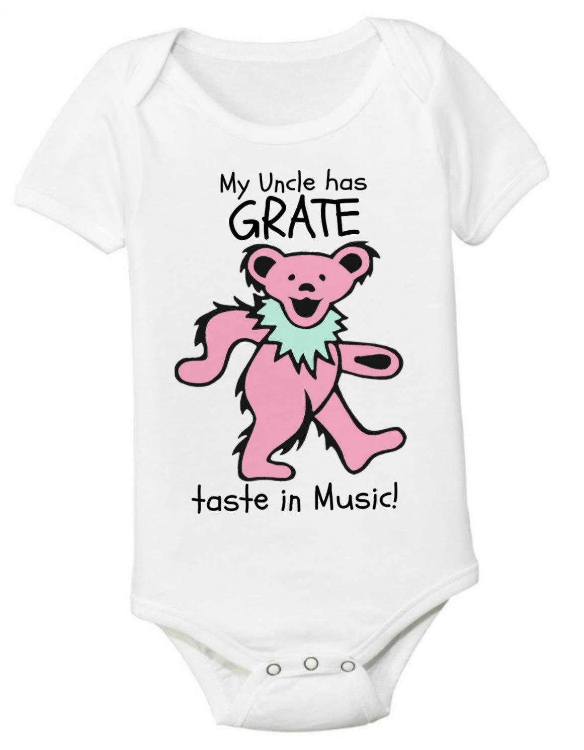 Grateful Shirt Unisex 3-6 Months Baby Award Onesie Grate My Many popular brands has Uncle