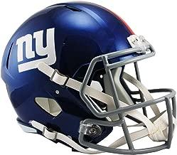 NFL New York Giants Riddell Full Size Replica Speed Helmet, Medium, Blue