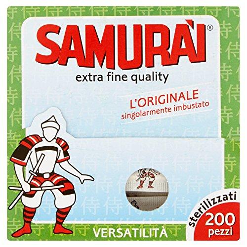 Samurai Zahnstocher Stück einzeln verpackt.200