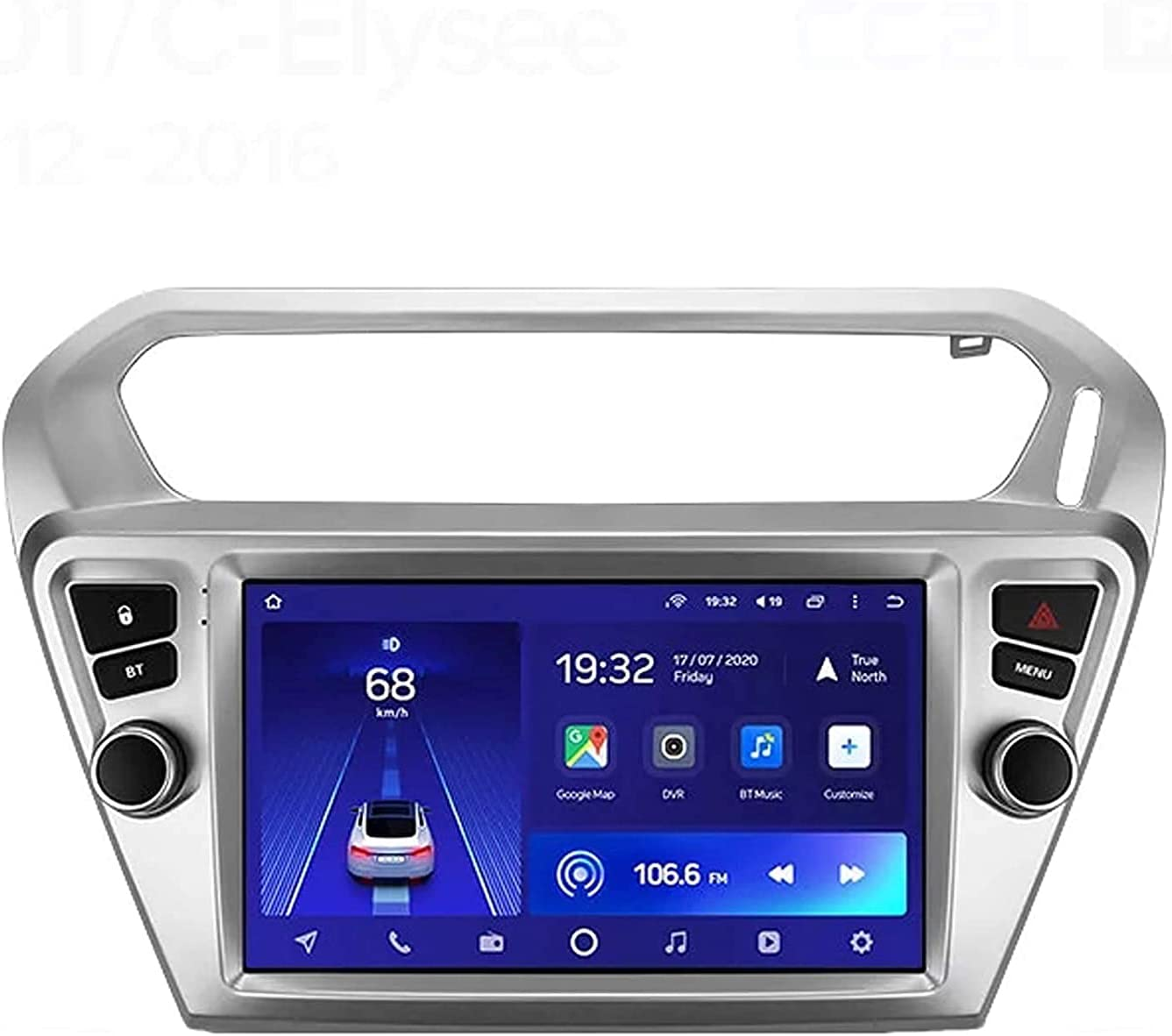 Android 10.0 Car Stereo Sat Nav Peu-geot IPS 301 T for Financial sales sale 2012-2018 Complete Free Shipping