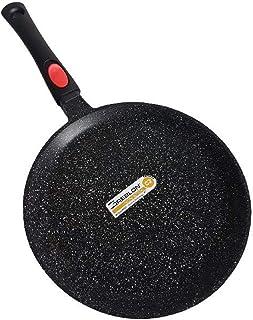Cflagrant®–Sartén para Crepes/Tortitas/skeppshult 28cm Piedra inducción sin PFOA cocción sin Materia Grasse Revestimiento de Greblon C3+ de tecnología Alemana