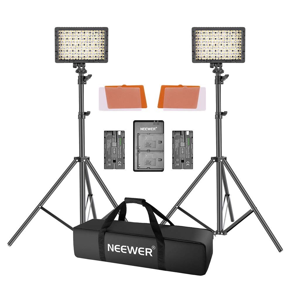 Neewer Dimmable Lighting Digital Camcorder
