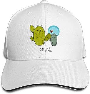 JTRVW Cowboy Hats Hugs Cactus Adult Sport Adjustable Baseball Cap Cowboy Hat