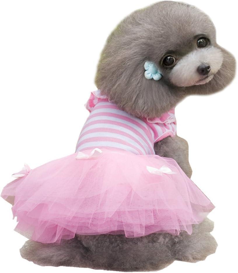 Direct sale of manufacturer Alroman Dog Dresses Pets free Clothes Puppy Skirt Pet Doggie