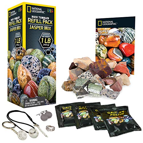 NATIONAL GEOGRAPHIC Rough Jasper Refill Kit for Rock Tumbl