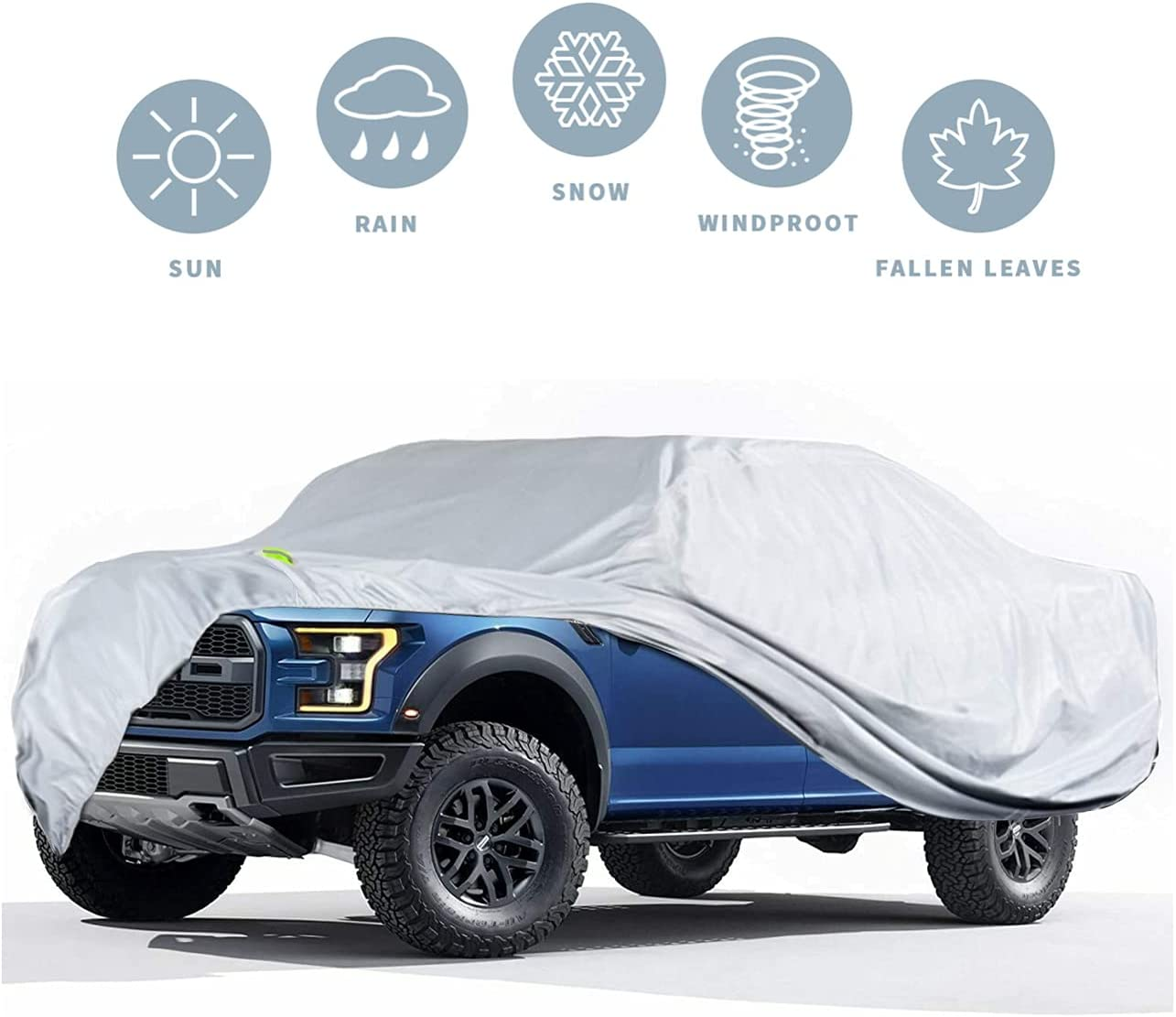 Truck Cover High material All items in the store Waterproof All Weather Compatible 1990-2021 with For