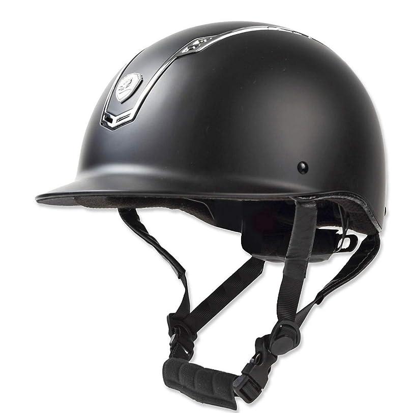 振る舞う一般地理乗馬 ヘルメット プロテクター 乗馬帽 帽子 EQULIBERTA ソリッド ダイヤル調整ヘルメット 乗馬用品 馬具