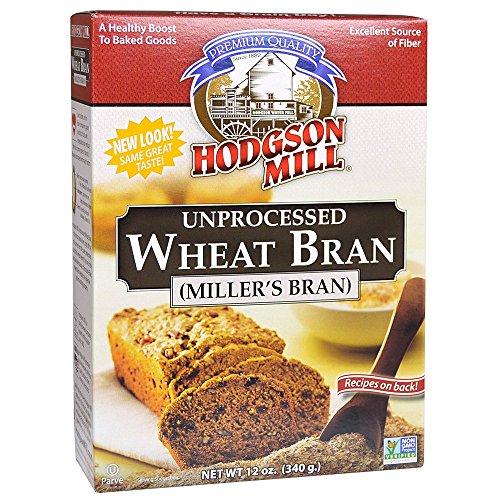 Hodgson Mill Wheat Bran Unprocessed, 12-Ounce