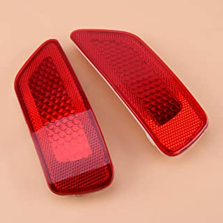 1 Pair Rear Bumper Reflector Light Lamp Fit for Jeep Grand Cherokee Compass 2011 2012 2013 2014 2015 2016 57010721AC 57010720AC