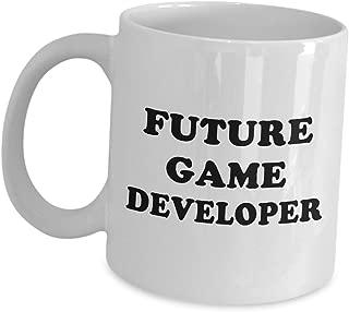 Aspiring Funny Gift for Game Designer - Future Developer Coffee Mug - Gaming Video Tea Cup Design Development In Training Dev Team Graduate Student Men Women Gamer Appreciation Cute Gag Gifts Idea