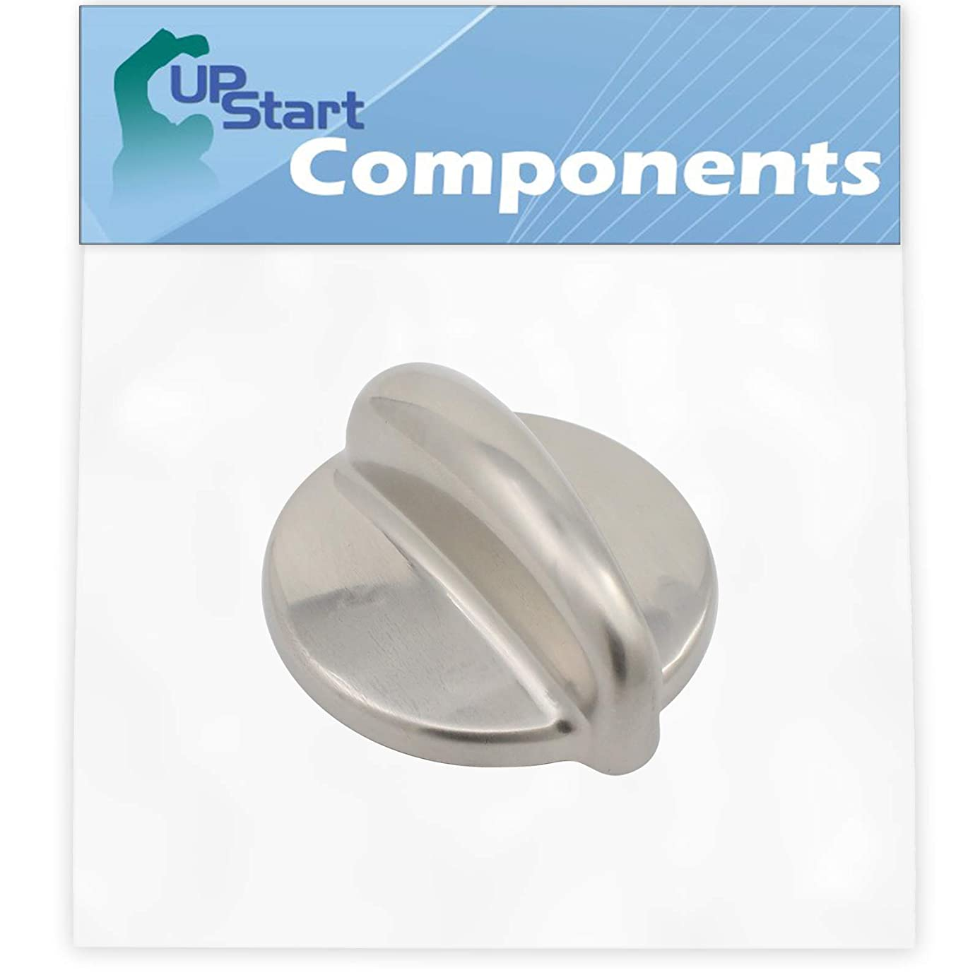 Replacement Surface Burner Control WB03K10303 Range, Stove, Oven Control Knob for General Electric P2B918SEM1SS Dual Fuel Range