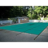 WaterWarden Inground Pool Safety Cover, Fits 18' x 36, Right Step, Center Easy Installation,...