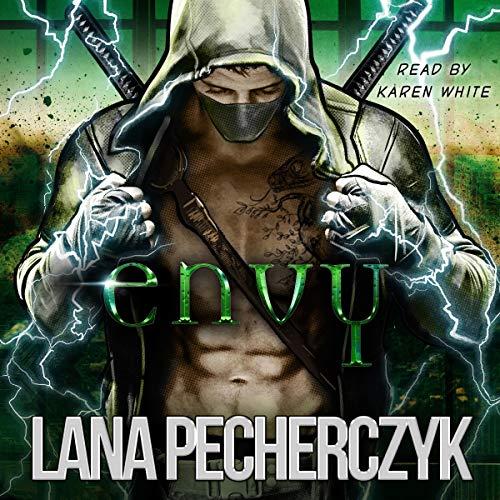 Envy: A Genetically Modified Superhero Romance cover art