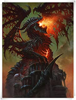 Cataclysm DEATHWING Wooden Jigsaw Puzzle for Kids Adults,Intelligent Educational Toys,Premium Quality Parent-child Toy,30...