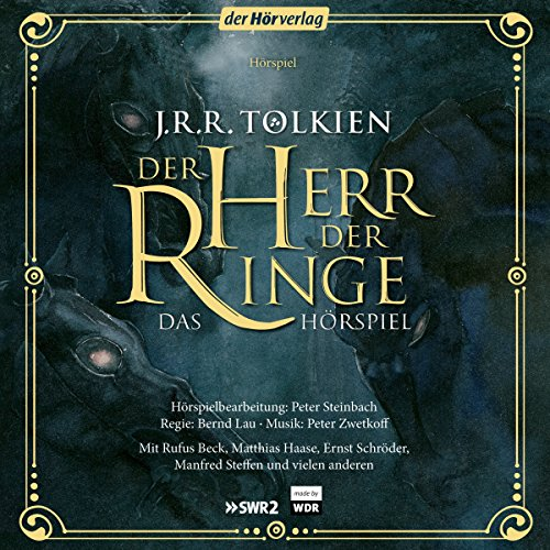 Der Herr der Ringe. Das Hörspiel                   By:                                                                                                                                 J.R.R. Tolkien                               Narrated by:                                                                                                                                 Manfred Steffen,                                                                                        Matthias Haase,                                                                                        Rufus Beck                      Length: 11 hrs and 26 mins     11 ratings     Overall 4.7