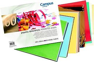 Campus University MNB-60 - Bloc de trabajos manuales múltiples, 60 hojas