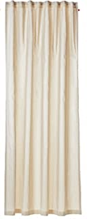 Esprit Home Standard Curtain with Hidden Tabs, Fabric, Natural 250x 140cm 37363-030-140-250