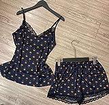 Pijamas Enteros Pijama De Mujer, Pijama Juvenil Y Encantadora