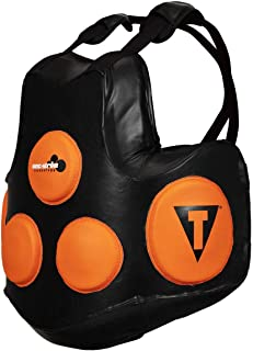 Title Boxing Ionic Strike Body Protector, Black/Orange