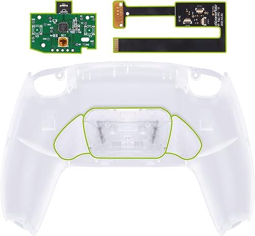 eXtremeRate Rise Remap Kit Programmable pour Playstation 5 Manette,Boîtier Arrière Coque de Remplacement pour PS5 Con...