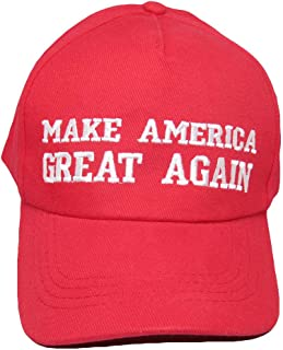 cc6b2d2043c63 mws Donald Trump Red Make America Great Again President Republican Ball Cap  Hat
