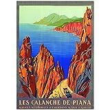 Editions Clouet 50227 Plakat Touristik, 50 x 70 cm, PLM –