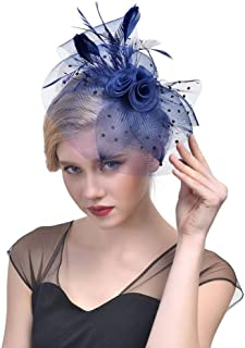 Elevin(TM) Elegant Tulle Birdcage Accessories Bridal Pearl Wedding Veil Headwear For Bride