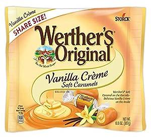 Werther's Original Soft Vanilla Crème Caramel Candy, 10.8 Oz Bag